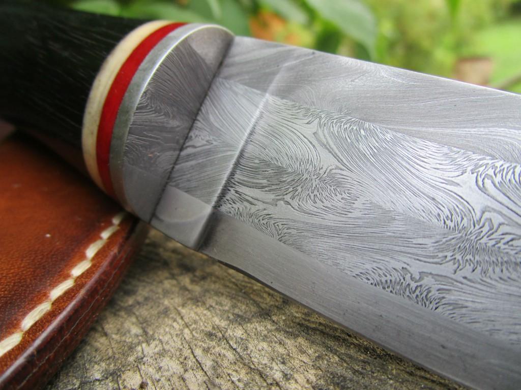 couteau-droit-soie-torsadé-ébène-détail-1